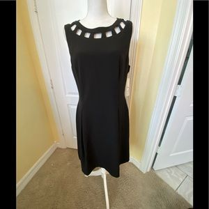 Eliza J NWT 14 Black Dress